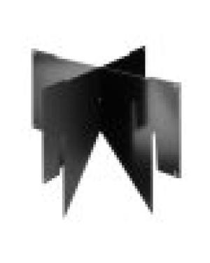 MultiVent Beluchtingskruis 131 zwart