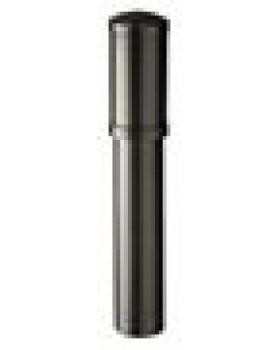 RioolontspanningsDakdoorvoer (z. schaal) - Ø 110 - L 700mm - zwart