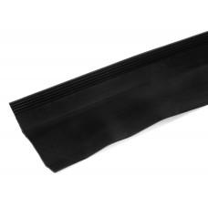 Aansluitslabbe - Isolatiesteen - rol 18000 x 145mm -  zwart
