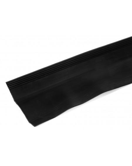Aansluitslabbe - Isolatiesteen - rol 6000 x 80mm -  zwart