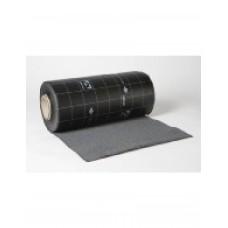 Ubiflex waterdichte laag 100 mm - rol 12 meter grijs