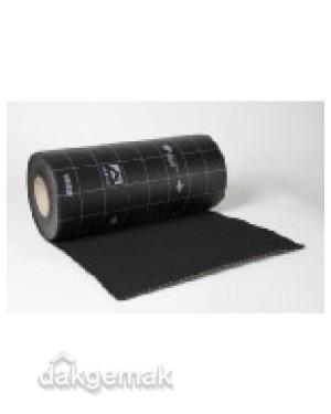 Ubiflex Standaard Loodvervanger 300mm x 12m zwart