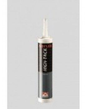 Ubiflex high tack kit koker A 290 ml zwart
