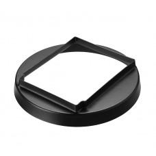 Adapter - Kompakt plat dak - Ø400