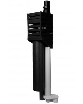 Kompakt - 15°-45° - RGA/LTV, MV/WTW ø125mm en riool