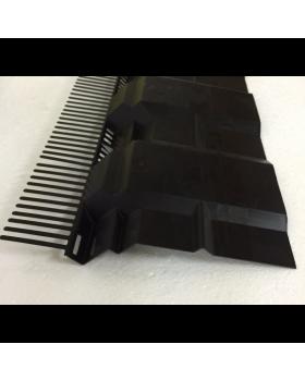Airtec combiprofiel L 1000 x 190mm zwart
