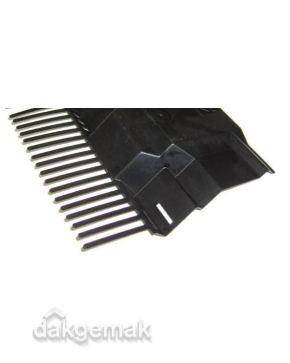 Airtec combiprofiel L 1000 x 125mm zwart