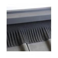 Ubiflex Ribbel waterdichte laag 250 mm - rol  6 meter - zwart
