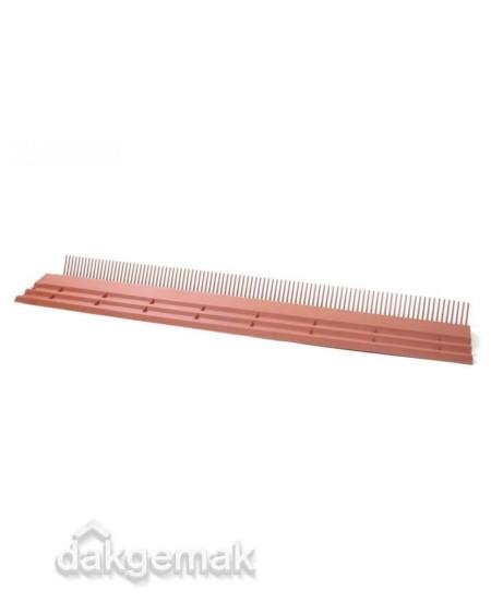 kombi-dakvoet 55 mm / 165 mm / 100 cm werkend rood PP