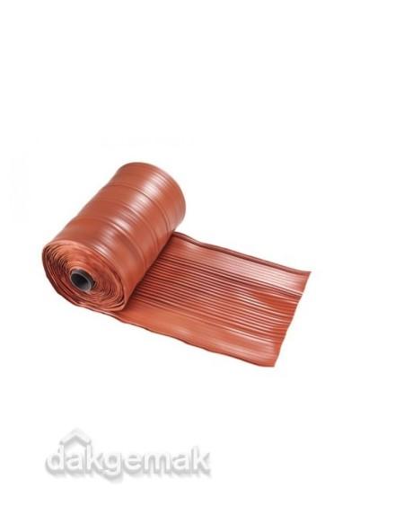 Kilgoot, kunststof op rol, breedte 470 mm rood