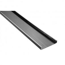 Aansluitelement Breed 15 cm Hoog 2,3 cm PVC zwart