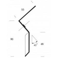 mini-kombi 55 mm / 90 mm / 100 cm werkend rood LDPE