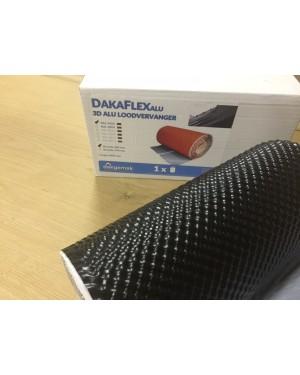 Dakflex 300mm. (rol 5 meter) zwart of rood !!ZO LANG DE VOORRAAD STREKT!!