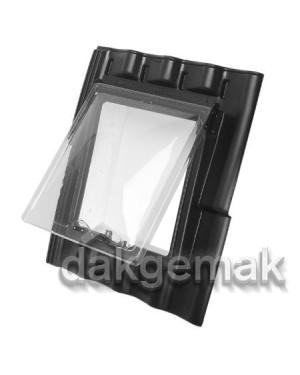 PE Dakraam Verbeterde Holle 9-pans BC3 zwart