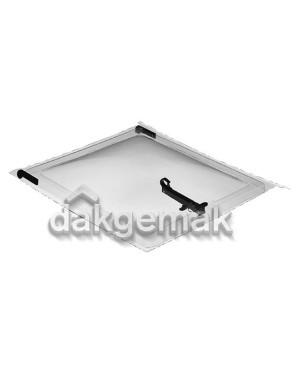 Bovenlicht kompleet - PE Dakraam Holle (A 2)