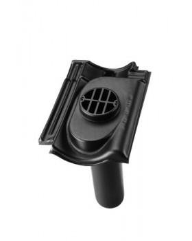Rioolontspanningspan Verbeterde Holle 5°-55° - 1 pans (BC-R1) - zwart