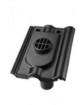 Rioolontspanningspan Finkenberger - 5°-55° - 1 pans (FR-R1) - zwart