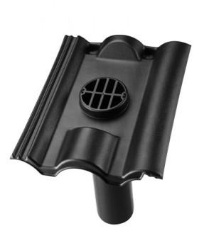 Rioolontspanningspan Neroma - 5°-55° - 1 pans (NER-R1) - zwart