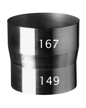 MultiVent onderdaks Verlengstuk Ø 131 wl 150mm