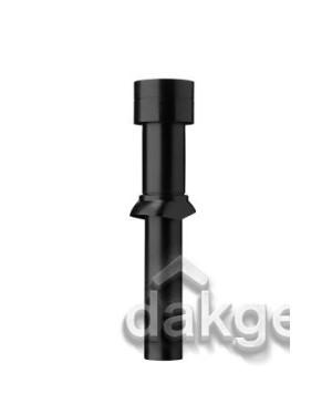Ventub Dakdoorvoer Ventilatie 166 1110mm zwart