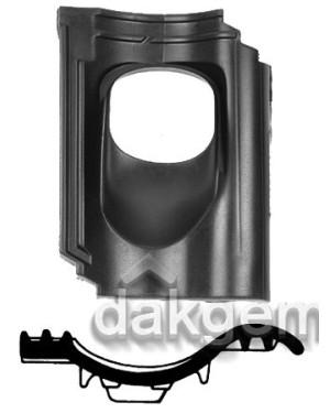 Pan Opn. Verb. Holle Van Oordt/KDN206 Ø 131 25°-45° 1 pans (BIJ) zwart