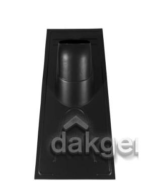 Pan universeel voor rieten daken - Ø 166 - 25°-45° - (UR) - zwart