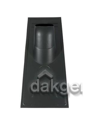 Pan universele voor rieten daken - Ø 214 - 25°-45° - (UR) - zwart