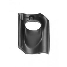 Pan Opn. Verb. Holle (alle typen) Ø 131 - 25°-45° 1 pans (BIJ) zwart