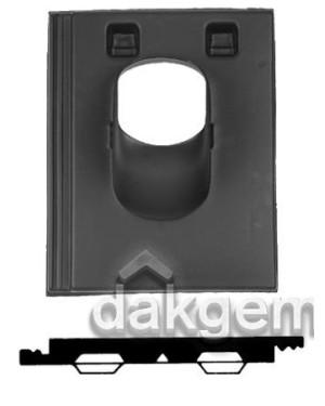 Pan Stonewold - Ø 131 - 5°-25° - 1 pans (STO) - zwart