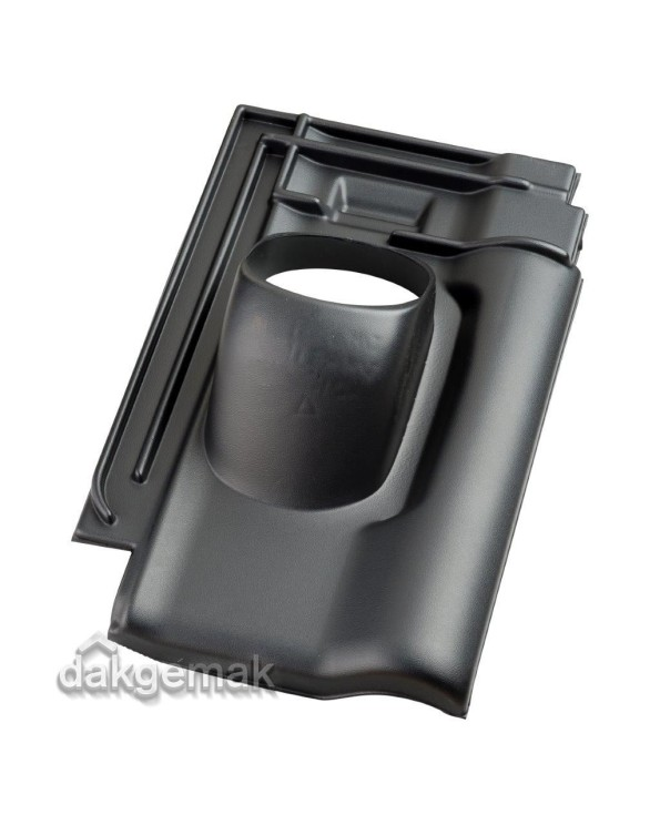 Pan Alegra 10 Ø 131 - 25°-45° - 1 pans - zwart