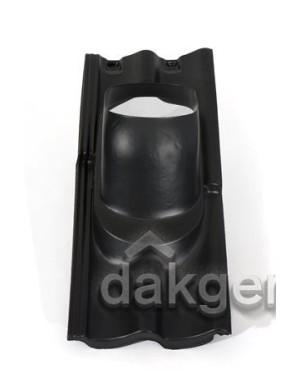 Pan Sneldek - Ø 214 - 25°-45° - 2 pans (SND) - zwart