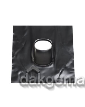 Loodpan universeel - Ø 166 - 25°-45° (UL) - zwart gelakt