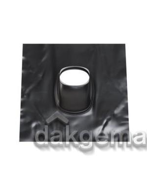 Loodpan universeel - Ø 131 - 25°-45° (UL) - zwart gelakt
