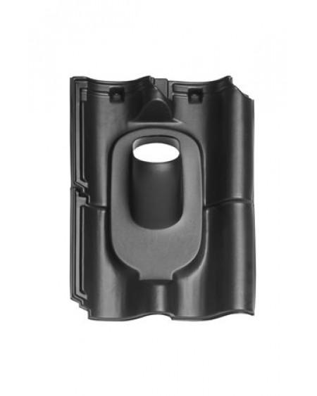 Pan Opn. Verb. Holle (alle typen) Ø 131 - 35°-55° 4 pans (BIJ) zwart