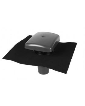 Ontluchtingspan RVT 200 Ubiflex universeel - incl. adapter - zwart