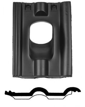 Pan Finkenberger - Ø 131 - 35°-55° 2 pans (FR) - zwart