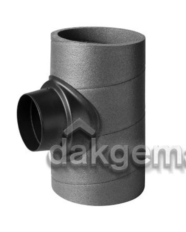 Aerfoam geïsoleerd leidingsysteem T-stuk 90° EPE 180-125 KS grijs