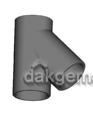 Aerfoam geïsoleerd leidingsysteem T-stuk 45° EPS 180 grijs