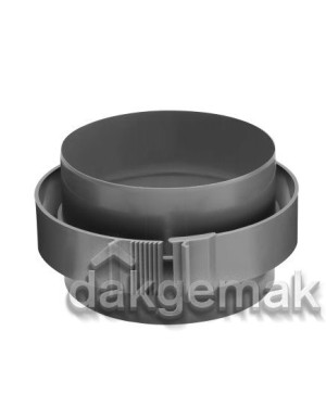 Aerfoam geïsoleerd leidingsysteem Koppelstuk KS 160 grijs
