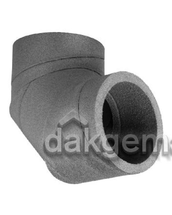 Aerfoam geïsoleerd leidingsysteem Bocht 90° EPE 125 grijs
