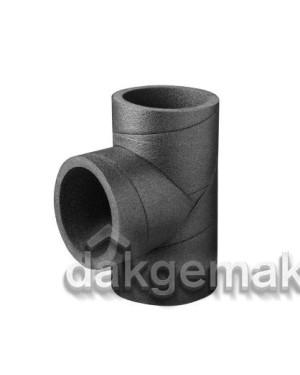 Aerfoam geïsoleerd leidingsysteem T-stuk 90° EPE 125 grijs