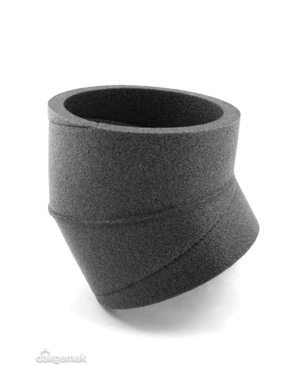 Aerfoam geïsoleerd leidingsysteem Bocht 15° EPE 150 grijs