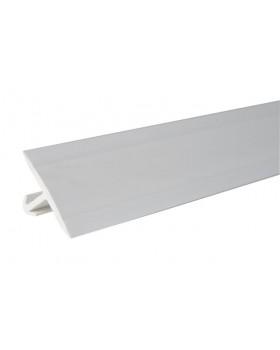 Luchtdicht kitprofiel dakaansluiting - L 2250mm -  wit
