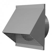 Gevelkap geïsoleerd leidingsysteem - Ø 150 - zwart