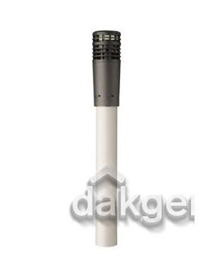 MultiVent 5V Dakdoorvoer 125 1190mm zwart