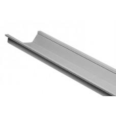 Bakgoot M120 - Lengte 6 meter (excl.fixeerbeugel) - grijs (RAL 7035)