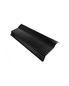 UA Afdekprofiel - L 1400 mm - zwart