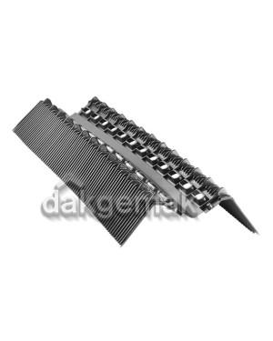 PE Ondervorst 118mm x 900mm zwart