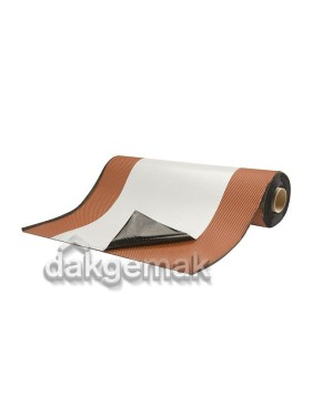 Kilgoot op rol ALU 650mm x 10m terracotta