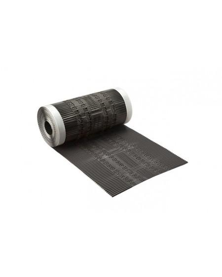 Airtec ALU nok- en hoekkeper rol zwart (5000 x 300mm)